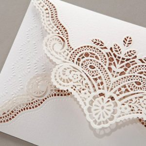 Laser Cut Charlotte Invitation