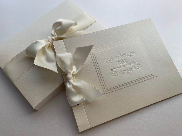 Embossed Guest Book