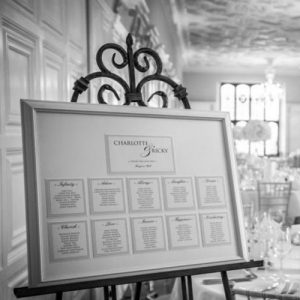 Table Plan with Names