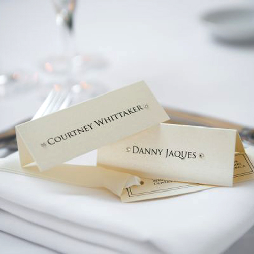 Personalised Guest Place Cards