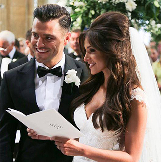 Michele Keegan-Mark Wright The most beautiful luxury wedding stationery.