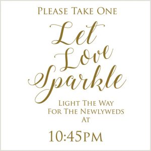 Love Sparkle Sign