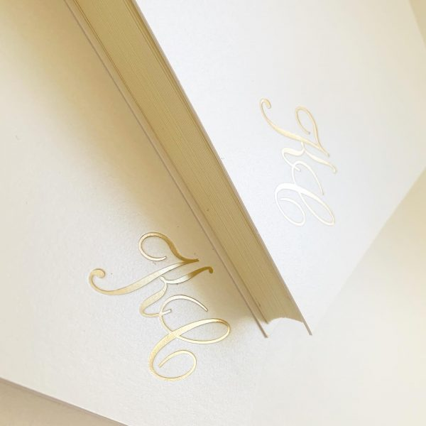 Wedding Photo Album Embossed