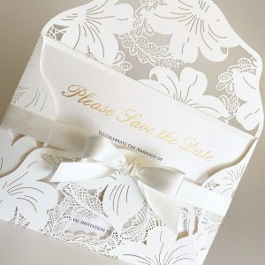 Save the Date Card with Envelope