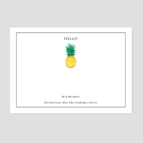 Pineapple Design