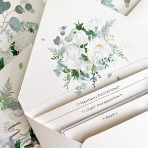 Floral Design Envelope